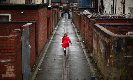 Child in Gorton, Manchester