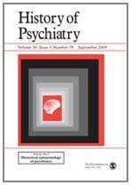 History of psychiatry