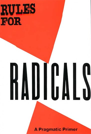 1971 cover Alinsky rules for radicals 364px