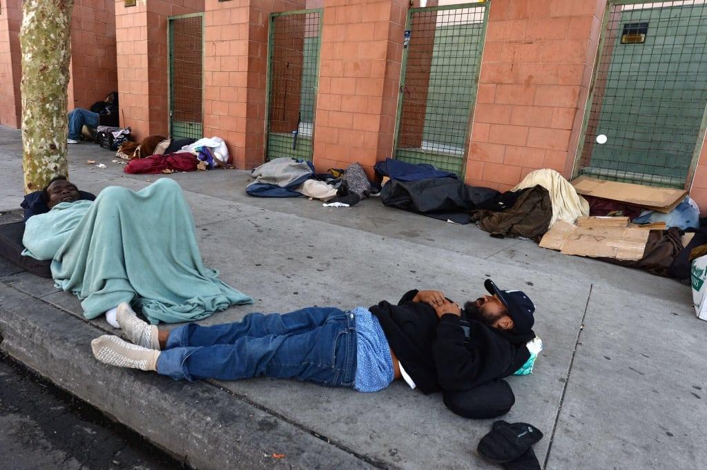 US-CALIFORNIA-POVERTY-HOMELESS