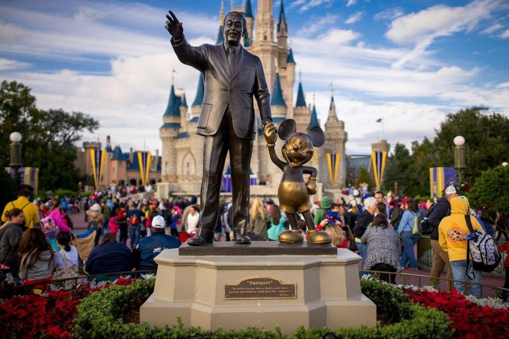 Magic Kingdom - Walt Disney and Mickey Mouse