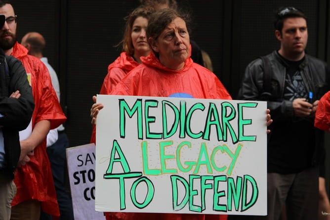 AUSTRALIA - PROTEST - MEDICARE