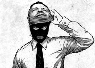 Corporate criminal revealed-mask-a