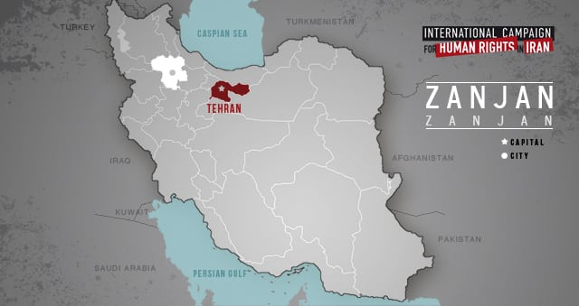 Zanjan-map