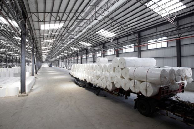 rolls-of-paper-loaded-at-paper-mill
