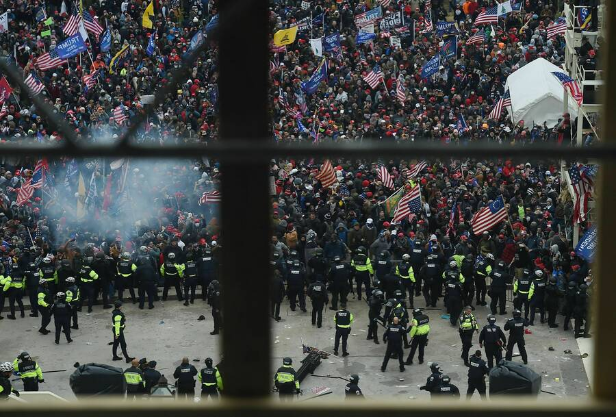 In These Times | O Douliery/AFP/Getty